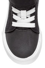 Cotton twill trainers - Black -  | H&M CN 3